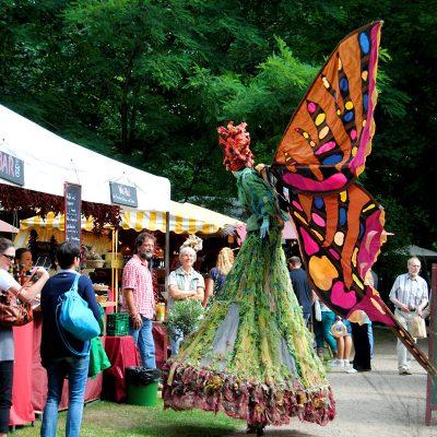 Gartenfestivals auf dem Rittergut