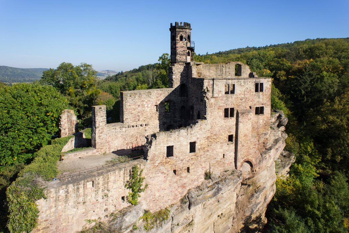 Keiler-Land Hardenberg BurgRuine