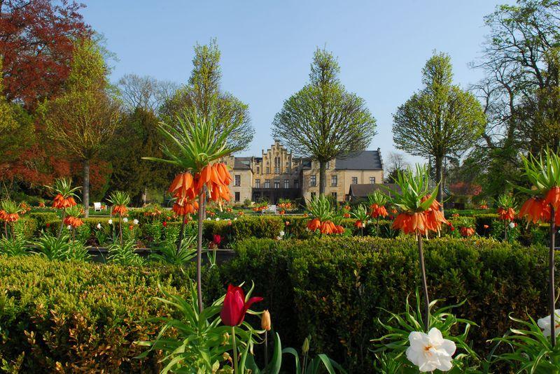Frühling auf Schloss Ippenburg