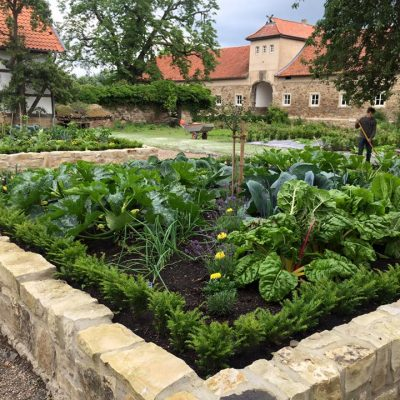Rittergut Remeringhausen - kitchen garden